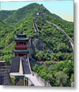 Up The Great Wall Metal Print