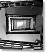 Up The Staircase Metal Print
