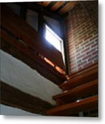 Up To The Attic Metal Print