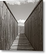 Up To The Watch Tower Metal Print
