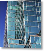 Up Town Phoenix Building Metal Print