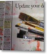 Update Your Decor Metal Print