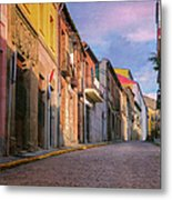 Uphill In Avila Metal Print