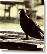 Upon The Look Metal Print