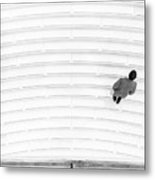 Upon The Oculus Stairs Metal Print