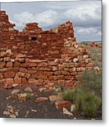 Upper Box Canyon Ruin Metal Print