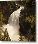 Upper Falls Metal Print