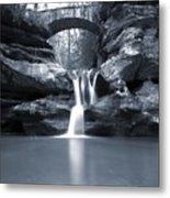 Upper Falls Hocking Hills Ohio Metal Print