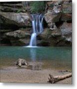 Upper Falls In Hocking Hills Metal Print