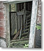 Upper Hoist Doorway Metal Print
