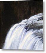 Upper Mesa Falls Metal Print