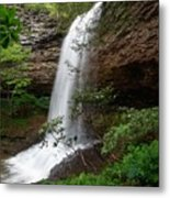 Upper Piney Falls Metal Print