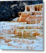 Upper Terraces Metal Print