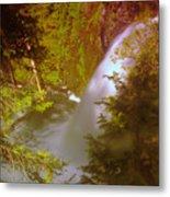Upper Union Creek Falls  Metal Print