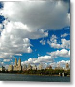 Upper West Side Cityscape Metal Print