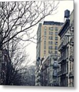 Upper West Side Winter Metal Print