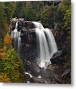 Upper Whitewater Falls - Nc Metal Print