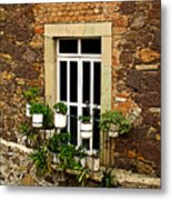 Upper Window Metal Print