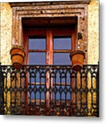 Upper Window Tlaquepaque Metal Print