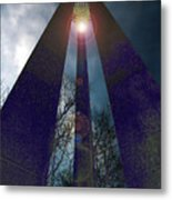 Uprightly Metal Print