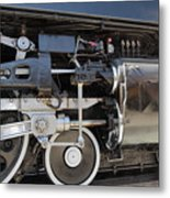 Uprr 844 Right Front Metal Print