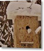 Upscale Bird Loft For Rent Metal Print