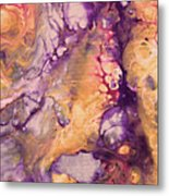 Upside Down Jellyfish And The Chicken Close Up Metal Print