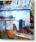Upstate Barn Metal Print
