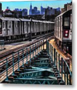 Uptown And Downtown Metal Print by June Marie Sobrito