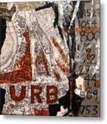 Urb 1 Metal Print