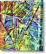 Urban Abstract 115 Metal Print