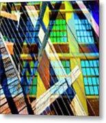 Urban Abstract 123 Metal Print