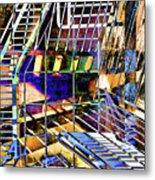 Urban Abstract 172 Metal Print