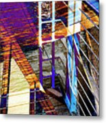 Urban Abstract 224 Metal Print