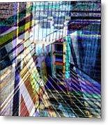 Urban Abstract 304 Metal Print