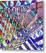 Urban Abstract 352 Metal Print