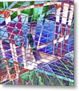 Urban Abstract 411 Metal Print