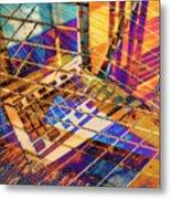 Urban Abstract 423 Metal Print