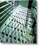 Urban Abstract 442 Metal Print