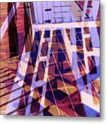 Urban Abstract 449 Metal Print