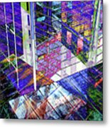 Urban Abstract 476 Metal Print