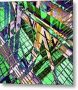 Urban Abstract 500 Metal Print