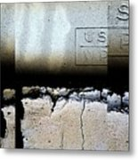 Urban Abstracts Seeing Double 19 Metal Print