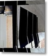 Urban Abstracts Seeing Double 64 Metal Print