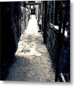Urban Alley Metal Print