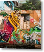 Urban Art 1 Metal Print