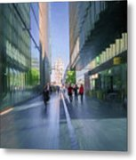 Urban Cityscape, London, Uk Metal Print