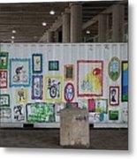 Urban Container Art I I I Metal Print
