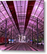 Urban Express Metal Print