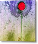 Urban Flower Metal Print